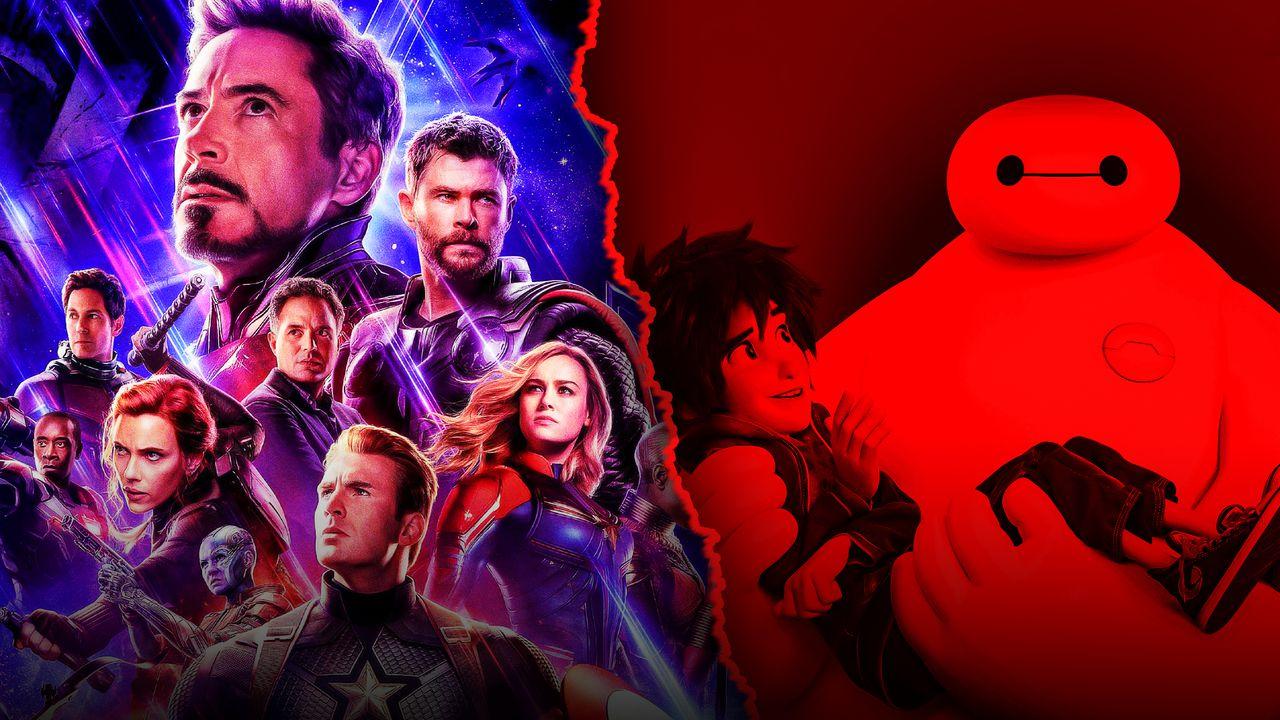 Avengers Endgame Big Hero Six