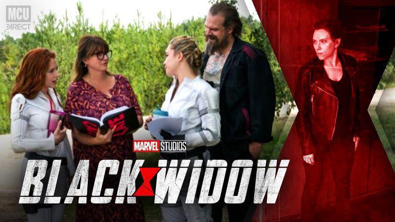 Black Widow Behind the Scenes