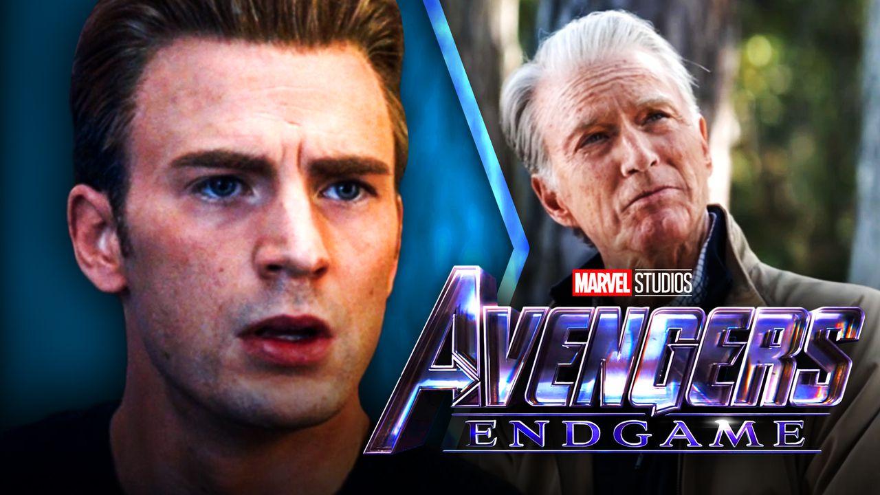Chris Evans, Old Captain America, Avengers Endgame Logo