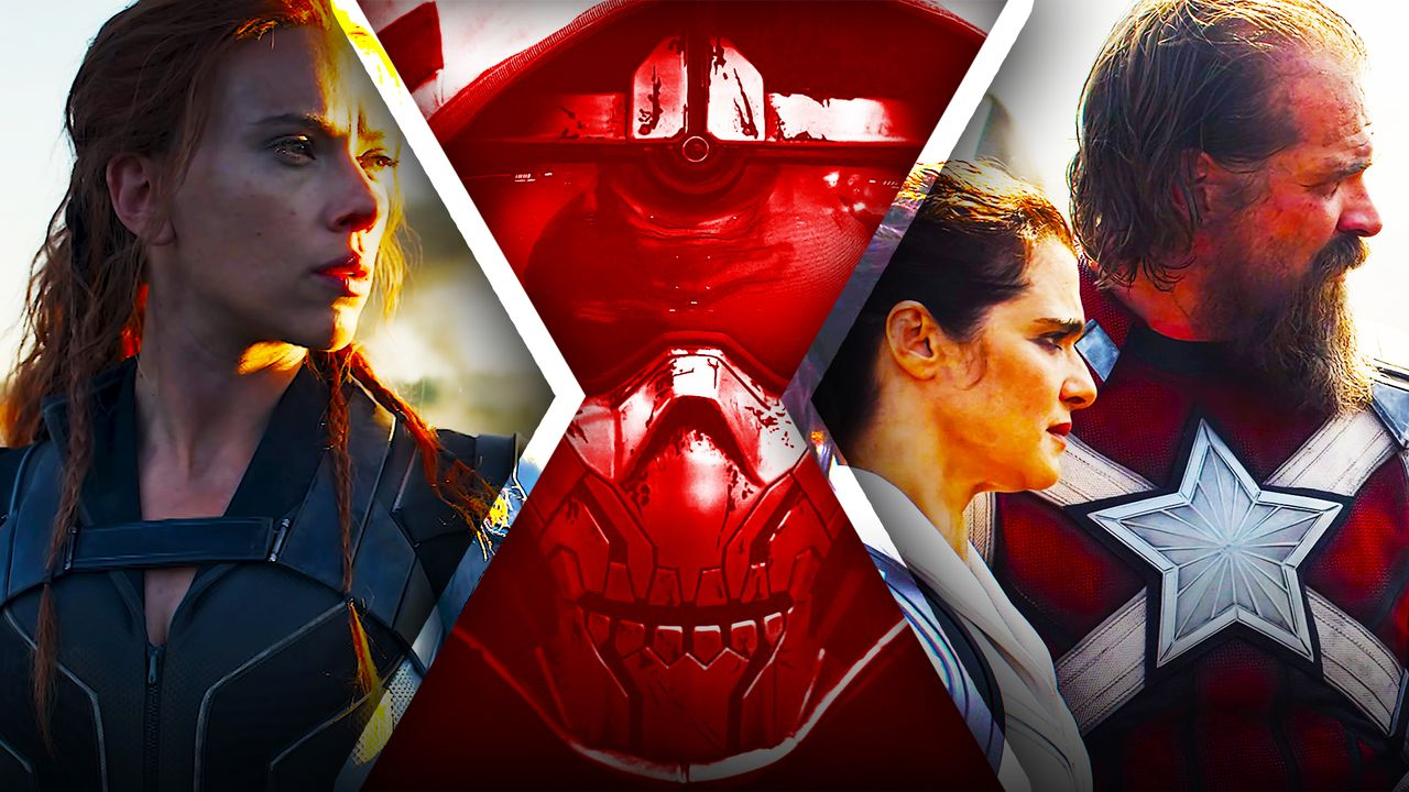 Black Widow Movie Characters