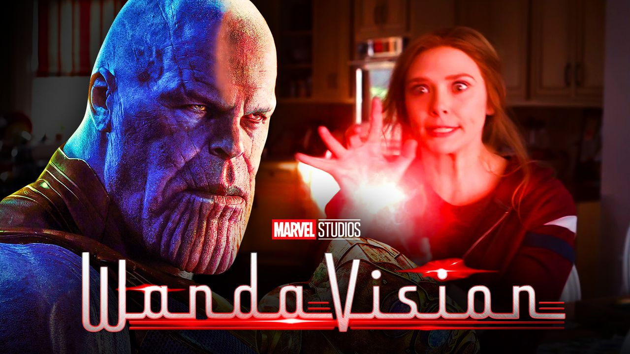 Thanos Wanda Maximoff WandaVision logo