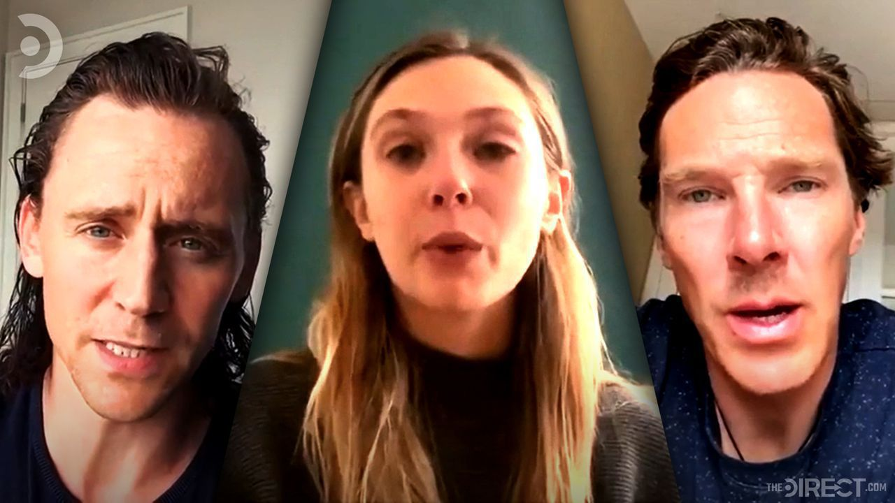 Tom Hiddleston, Elizabeth Olsen, and Benedict Cumberbatch pay tribute to Chadwick Boseman