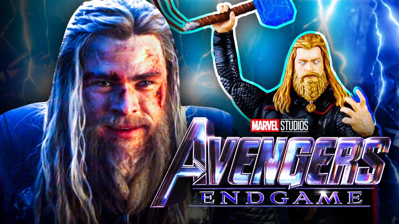 Chris Hemsworth Thor Avengers Endgame logo