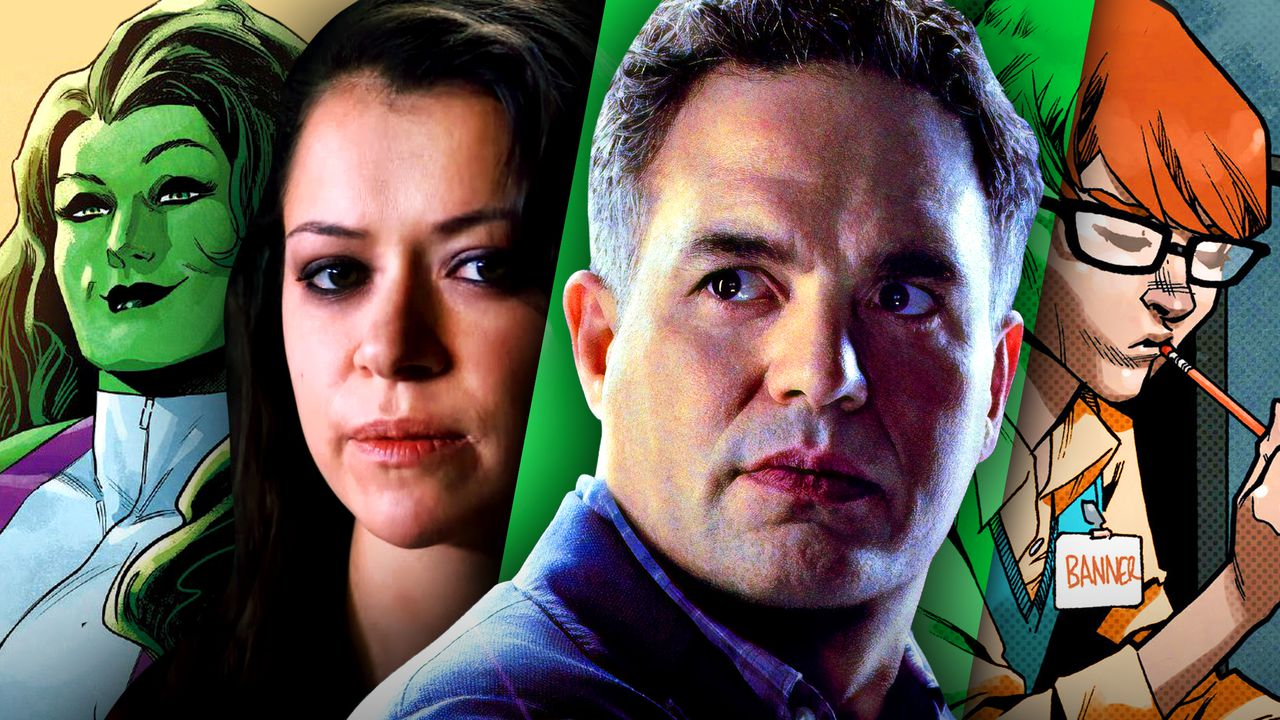 She-Hulk, Tatiana Maslany, Bruce Banner, Bruce Banner student