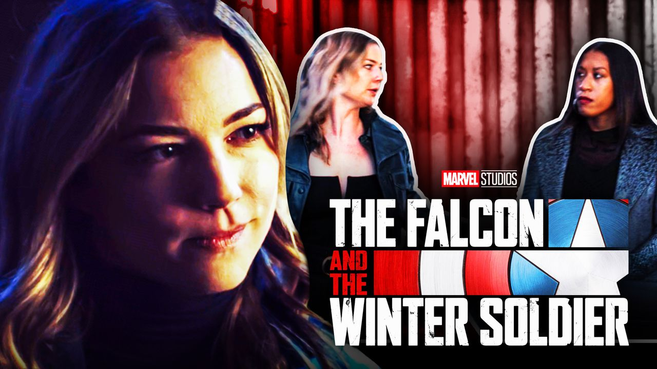Sharon Carter Falcon and Winter Soldier