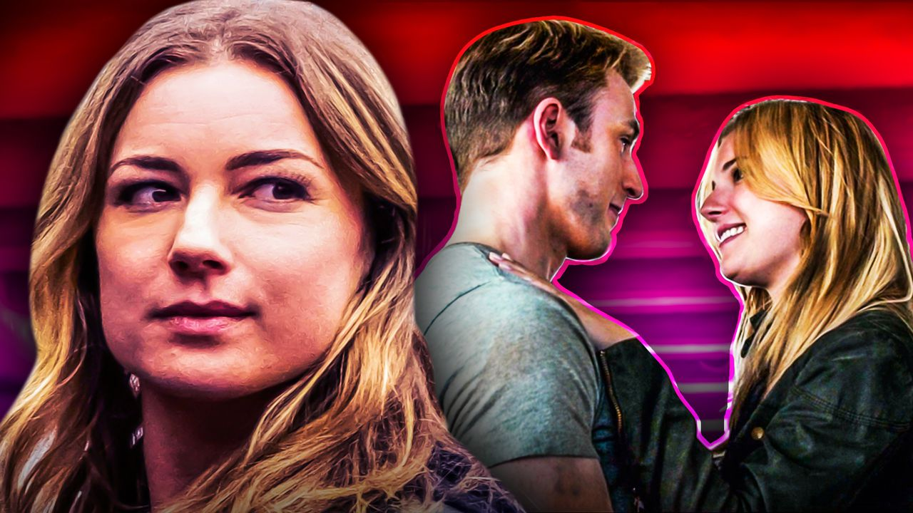 Why Emily VanCamp Is 'So Happy' To Move Past Captain America's Kiss With Sharon Carter
