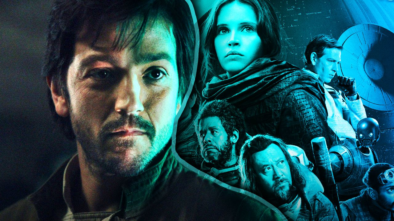 Cassian Andor, Rouge One Movie Poster