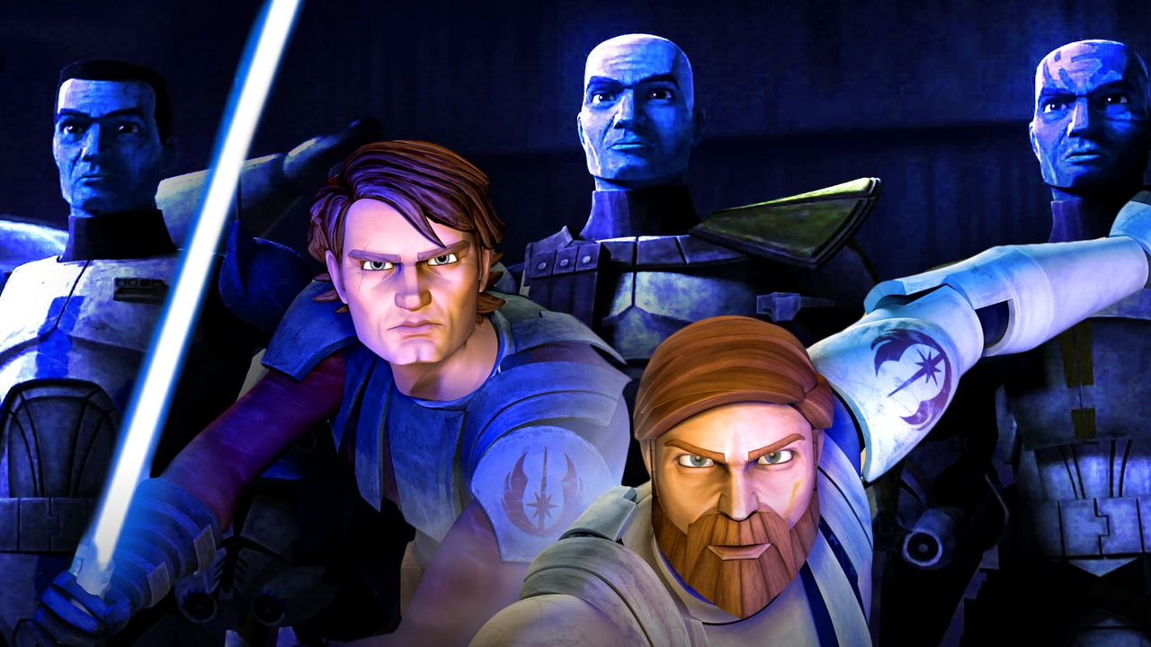 Anakin Skywalker, Obi-Wan Kenobi animated, The Bad Batch
