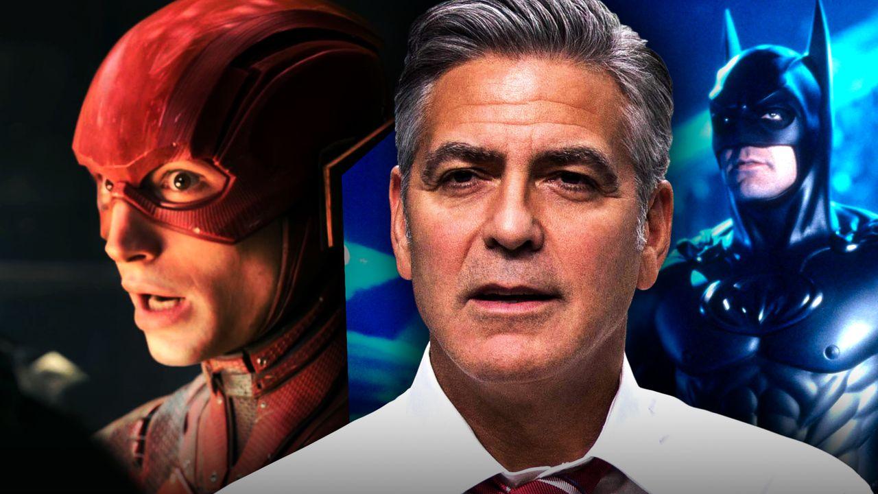 George Clooney, Batman, Flash