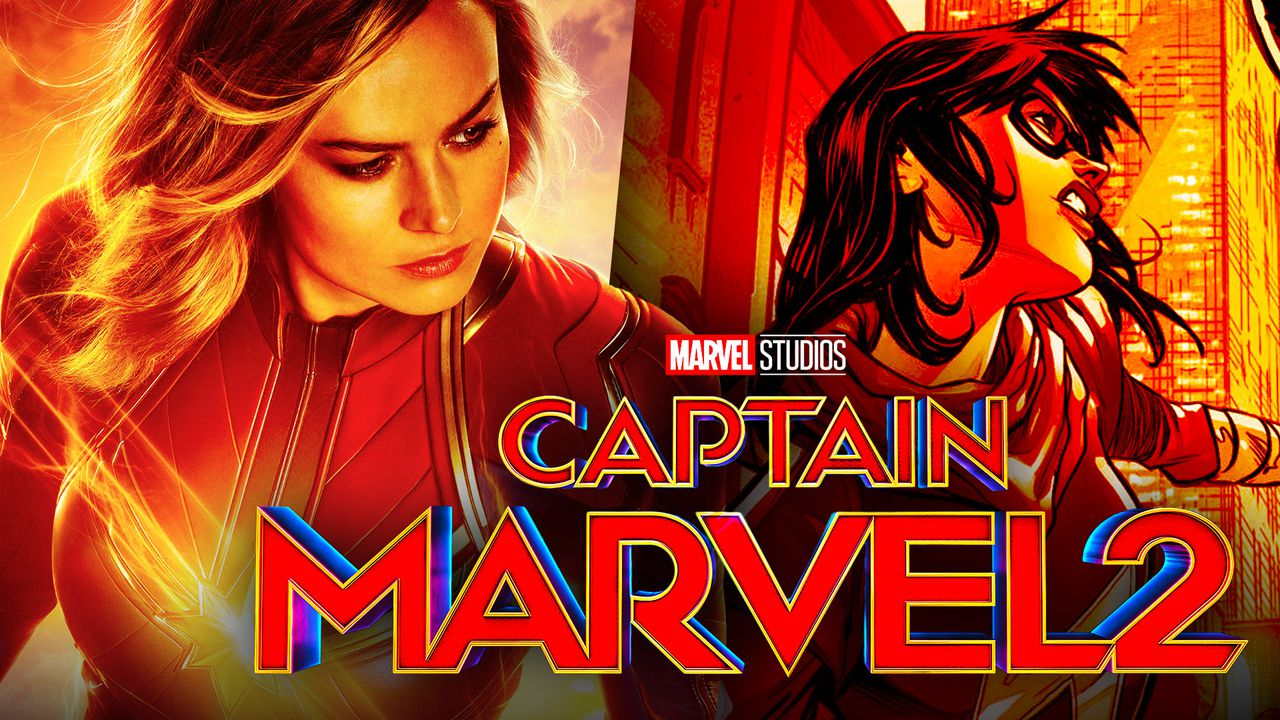 Captain Marvel and Ms. Marvel
