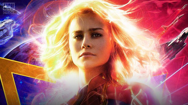 Captain Marvel 2 release date announcement.