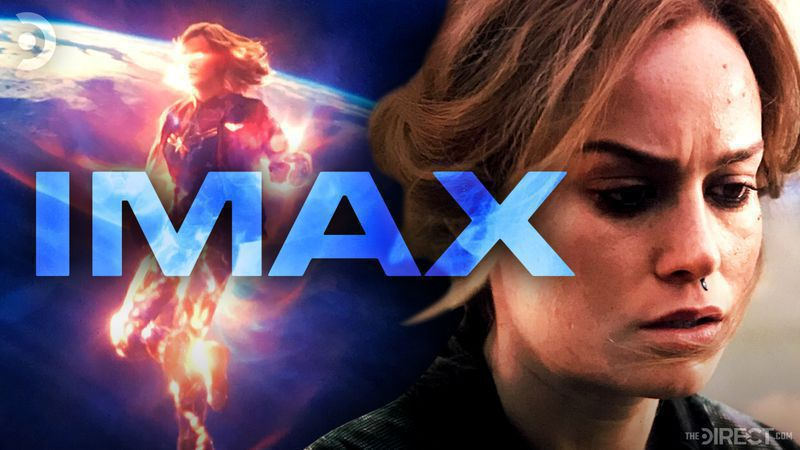 New Captain Marvel Screenshots from IMAX Home Media Release