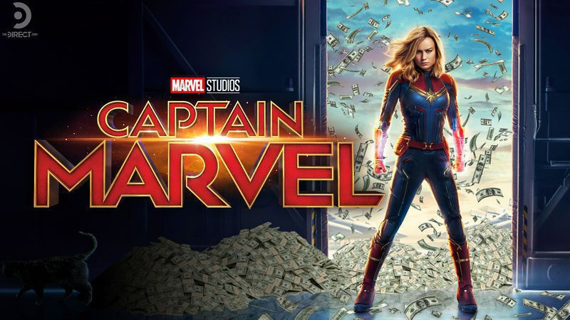 CAPTAIN MARVEL nets bigger box office profit than FAR FROM HOME and THE RISE OF SKYWALKER