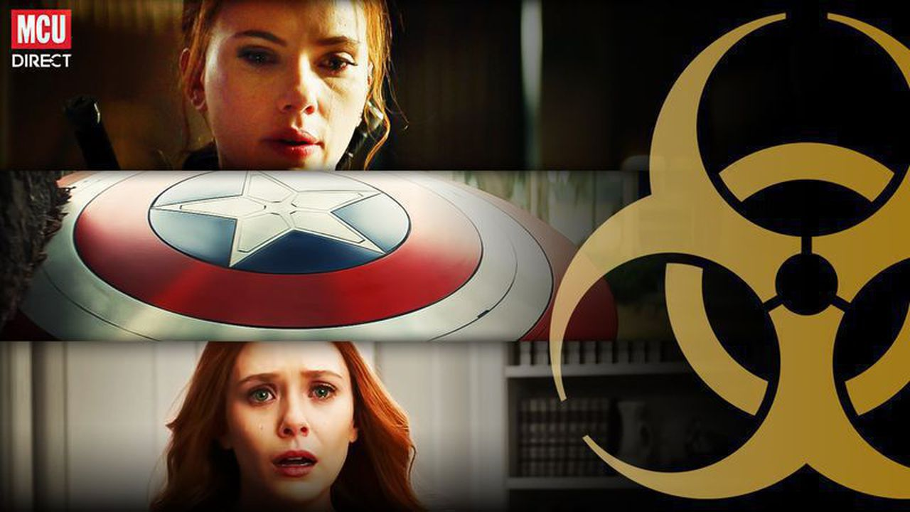 Black Widow, The Falcon and the Winter Soldier and WandaVision effected by COVID-19