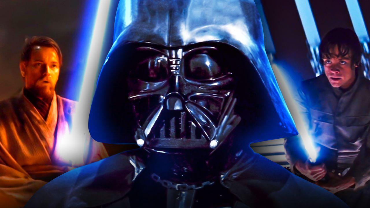 Obi Wan Kenobi Darth Vader Luke Skywalker