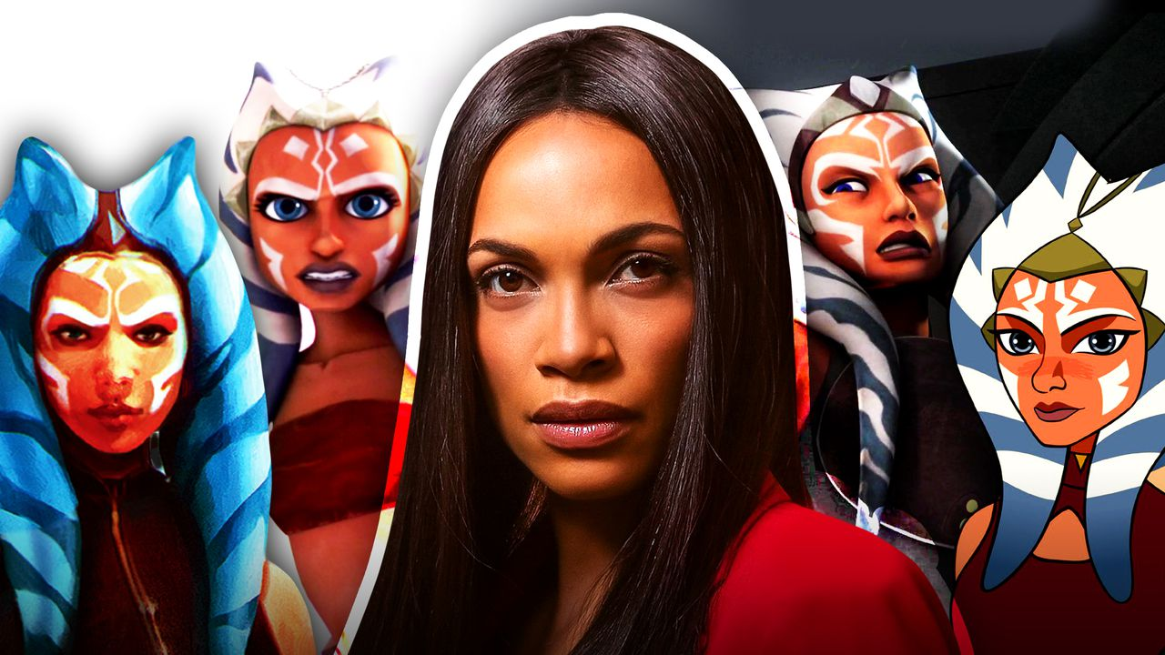 Various incarnations of Ahsoka Tano, Rosario Dawson