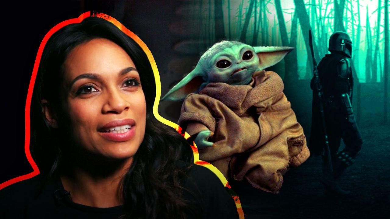 Rosario Dawson, Baby Yoda, Mando