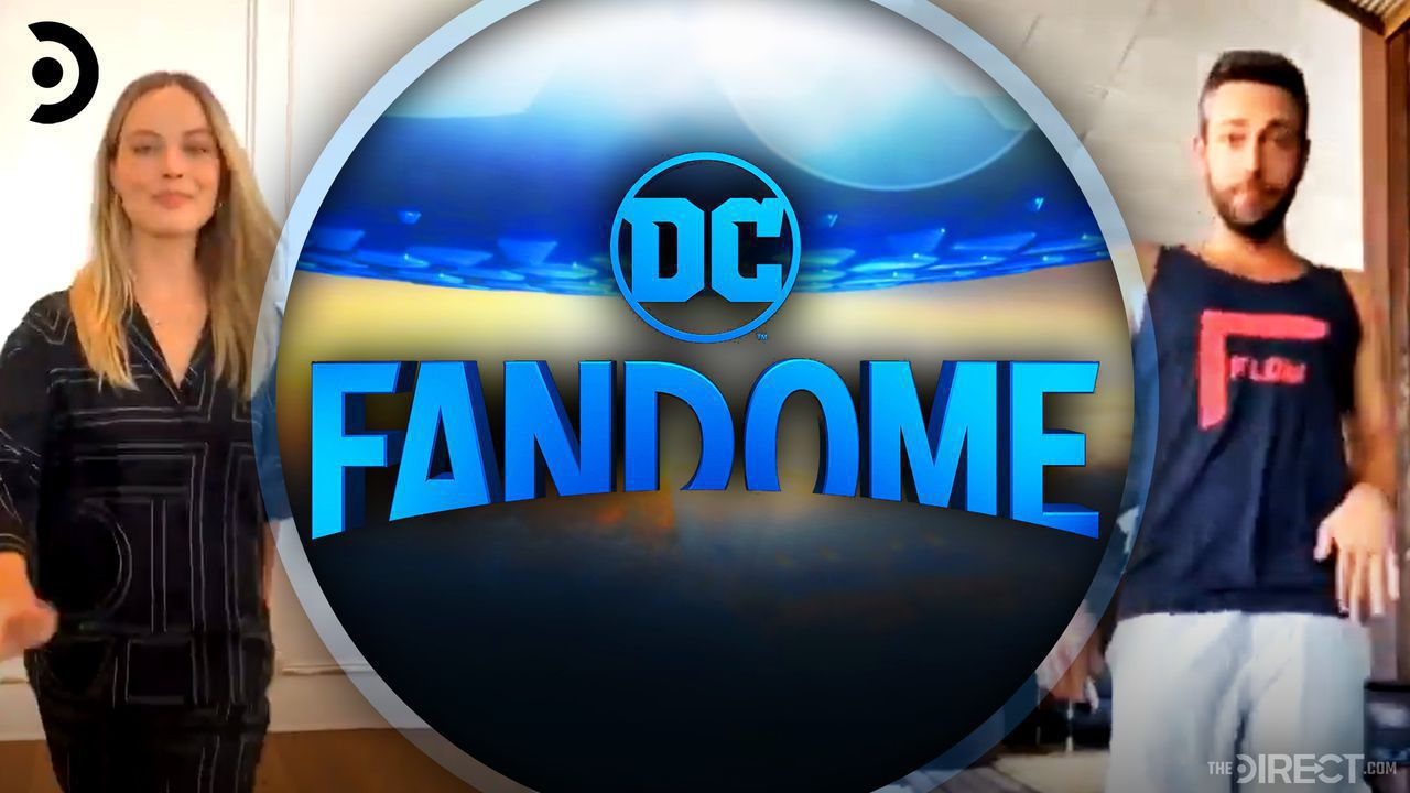 Margot Robbie, DC FanDome, Zachary Levi