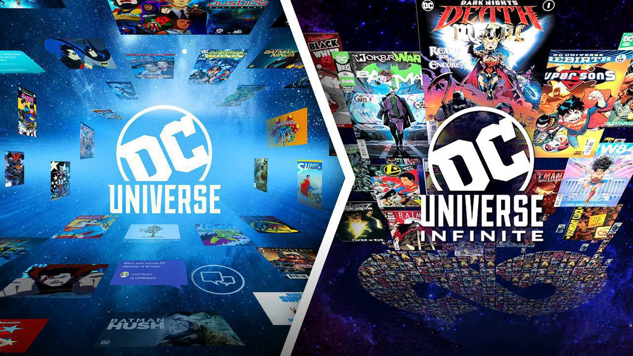 DC Universe and DC Universe Infinite