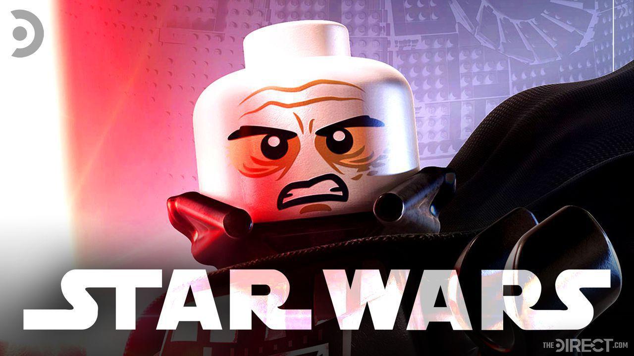 Darth Vader LEGO, Star Wars logo