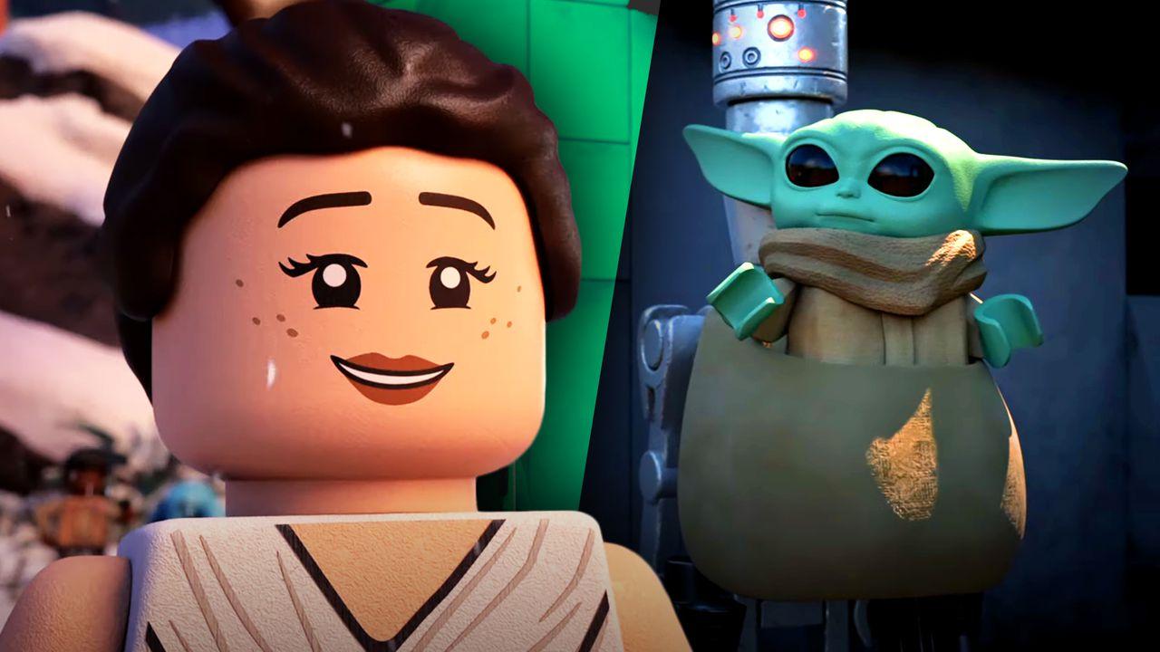 Rey, Baby Yoda