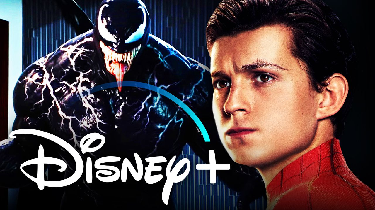 Tom Holland as Spider-Man, Venom