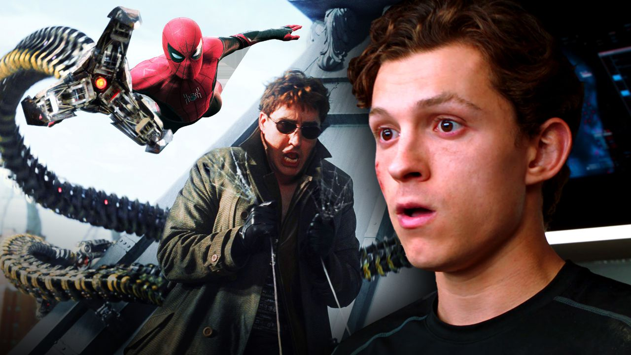 Spider-Man from Far From Home, Alfred Molina as Doc-Ock, Tom Holland