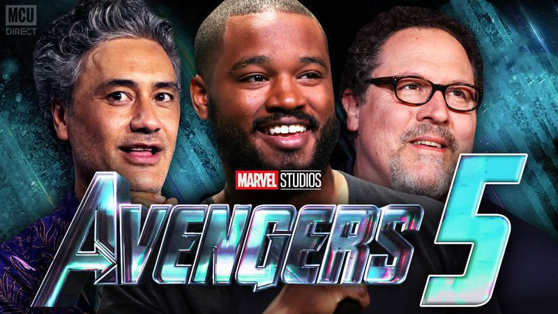 Who will be the director for the fifth AVENGERS movies?