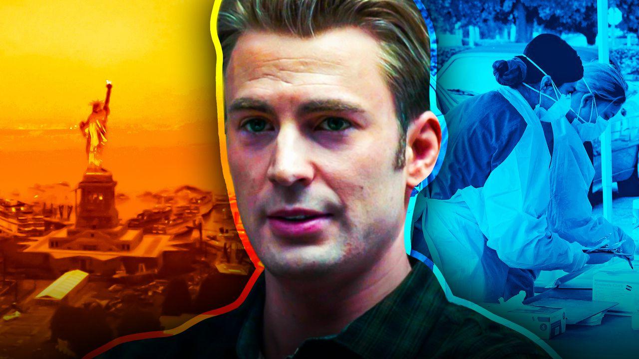 Chris Evans Steve Rogers Avengers Endgame