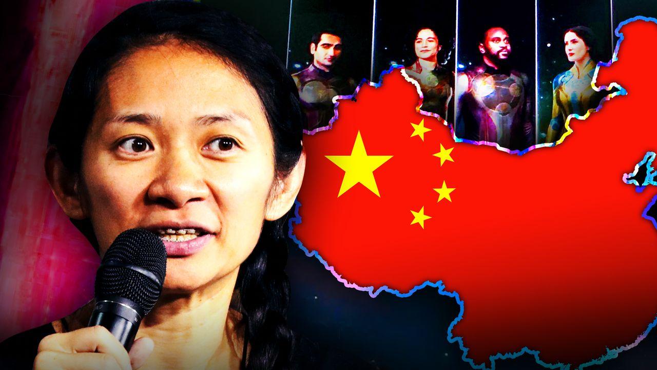 Chloe Zhao Eternals China