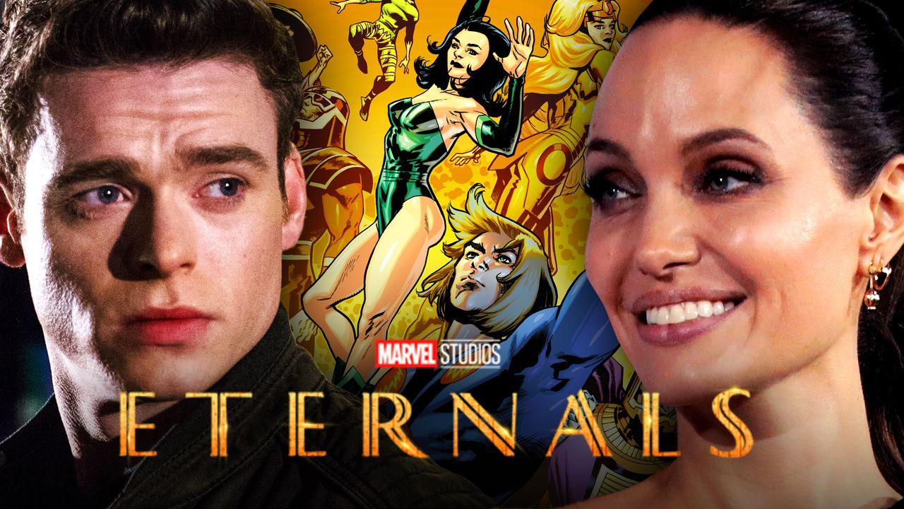 Eternals Angelina Jolie Richard Madden