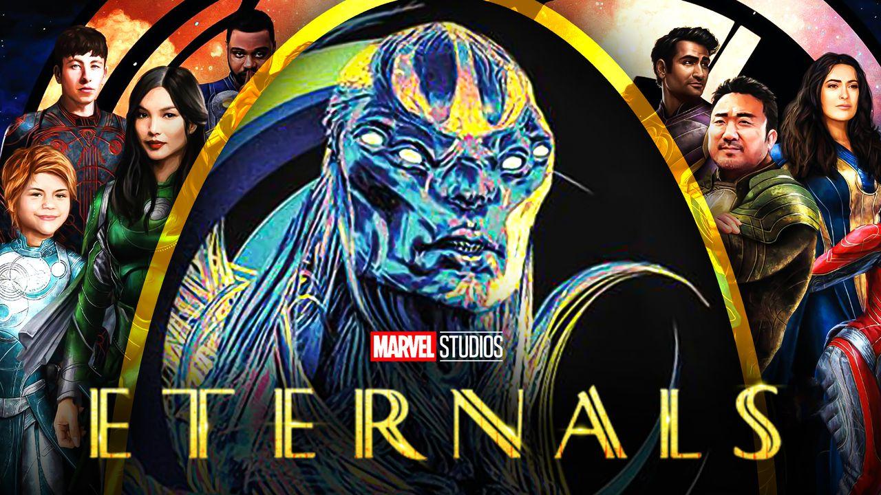 Marvel Marvel Eternals Teams Background