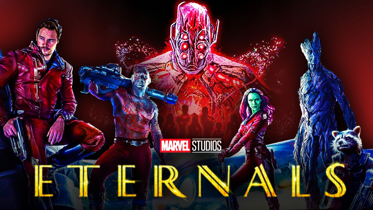 Marvel's Eternals Reveals New Looks at Celestials First Teased In Guardians of the Galaxy Movie