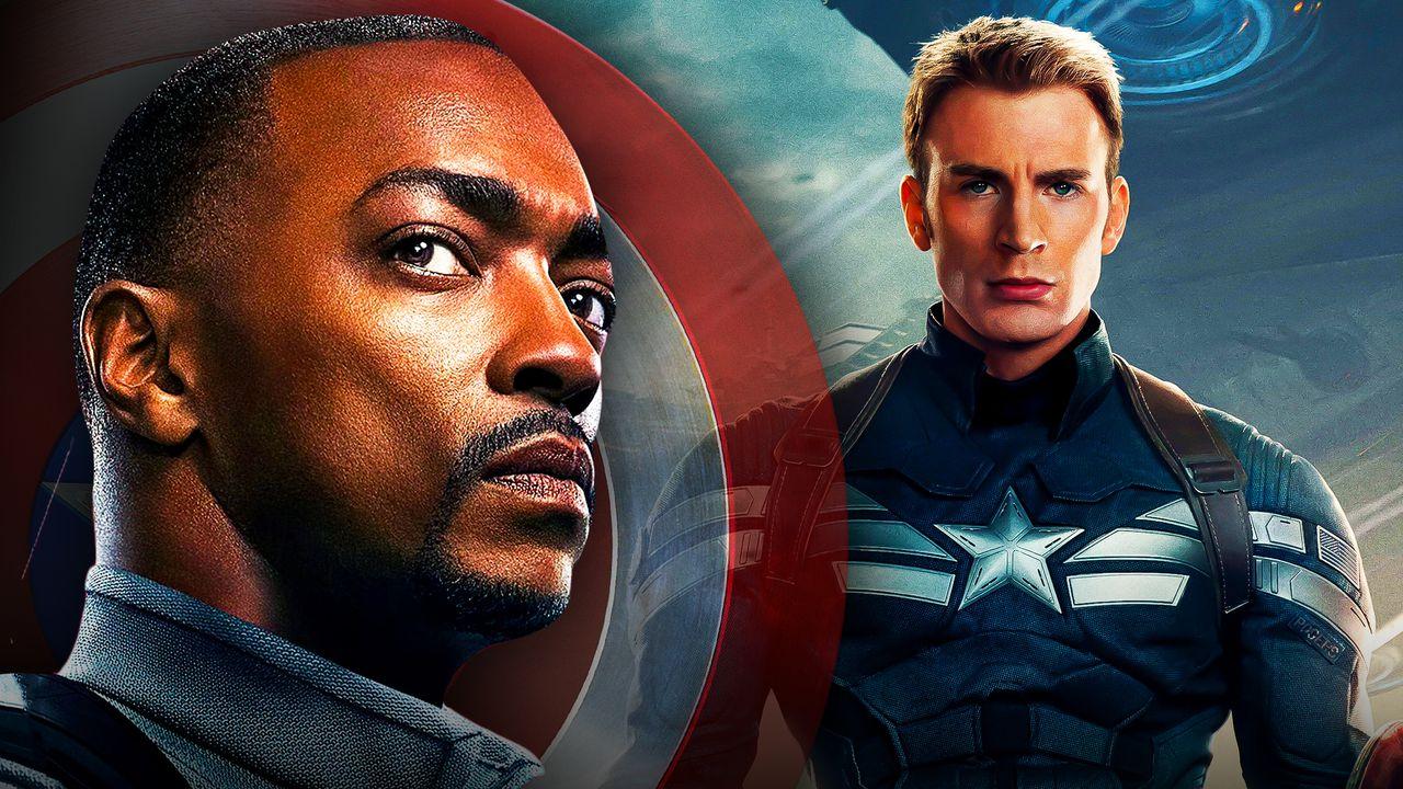 Captain America Anthony Mackie Chris Evans