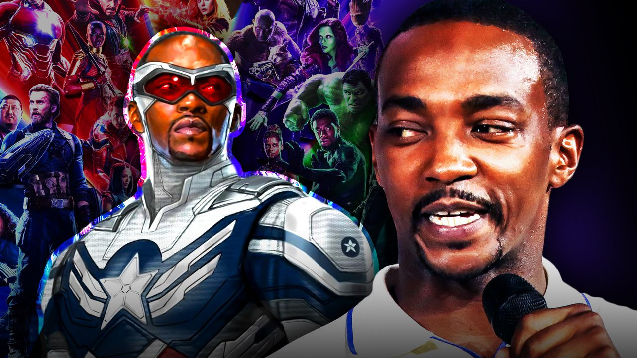 Captain America Star Anthony Mackie Jokes About New Marvel Contract
