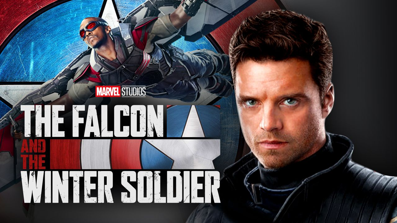 The Falcon and the Winter Soldier logo, Sam Wilson, Bucky Barnes