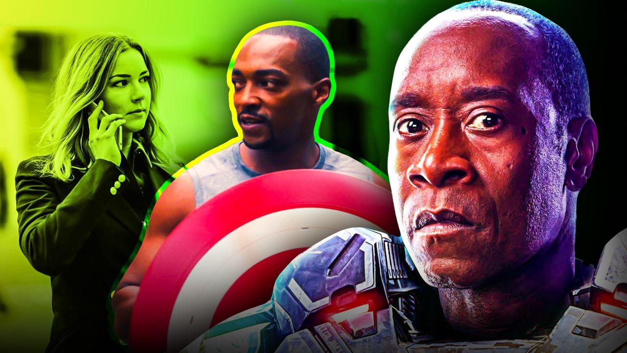Don Cheadle's War Machine, Captain America, Sharon Carter