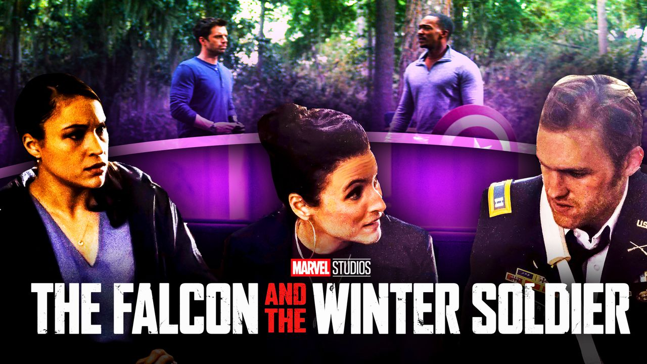 The Falcon and the Winter Soldier logo,