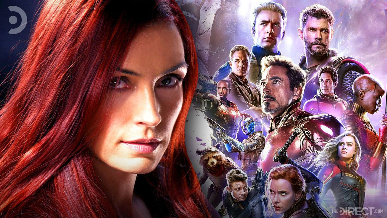 Famke Janssen as Jean Grey, Avengers: Endgame poster