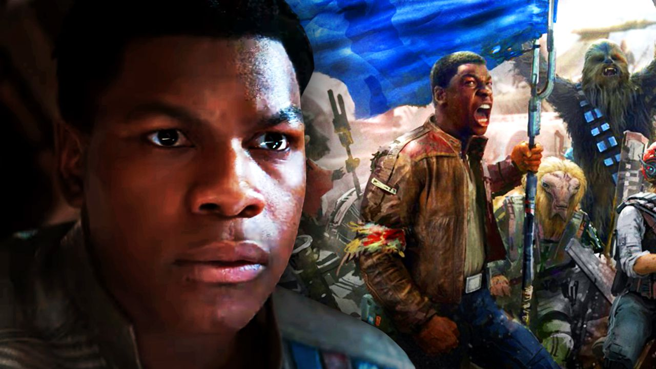John Boyega, Duel of the Fates concept art