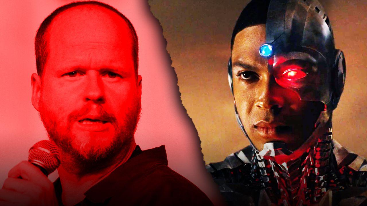 Joss Whedon, Ray Fisher's Cyborg.