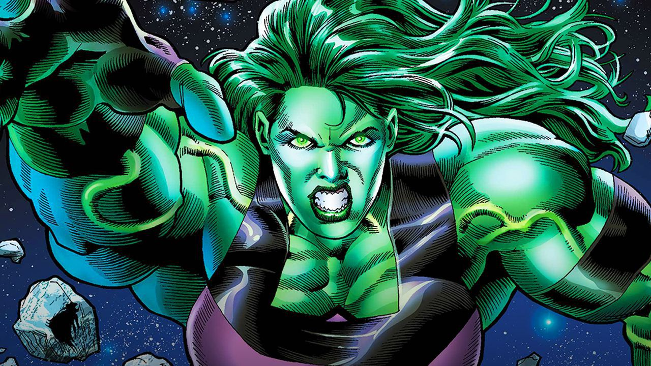 She-Hulk Comic