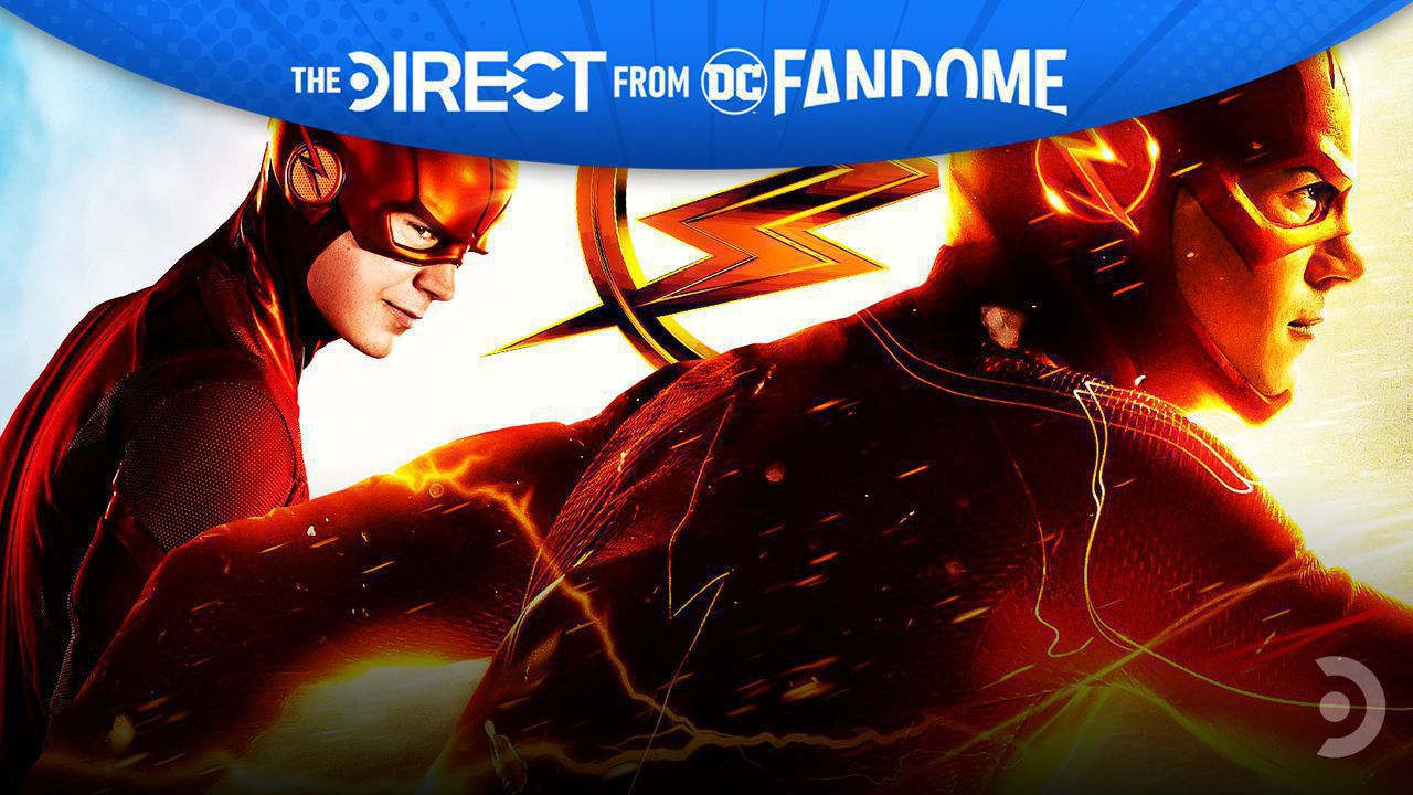 Grant Gustin as The Flash, DC FanDome header
