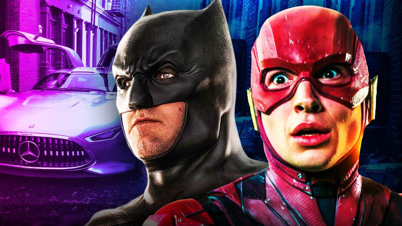 The Flash Movie: New Set Photos Appear To Show Bruce Wayne's Car