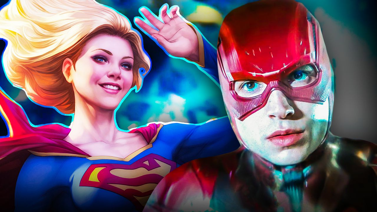 The Flash Movie: Set Video Shows Supergirl Flying