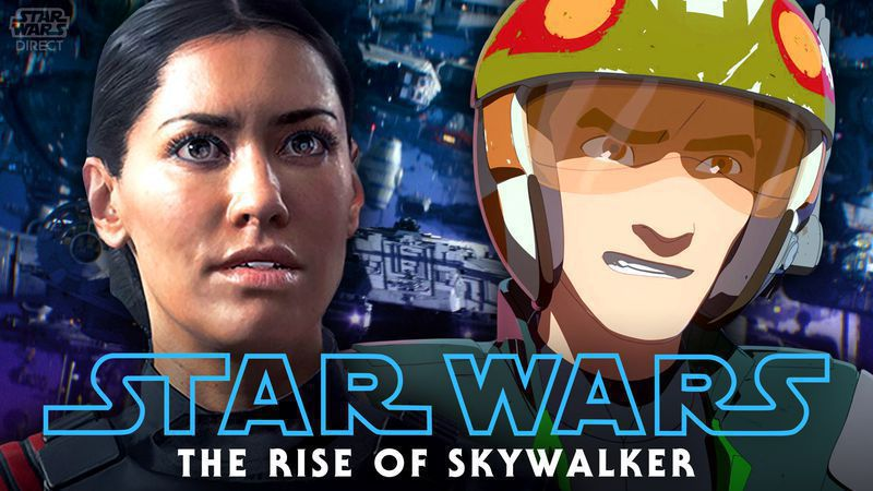 Star Wars Battlefront And Resistance Character Cameos Revealed In The Rise Of Skywalker Novel Star Wars Direct
