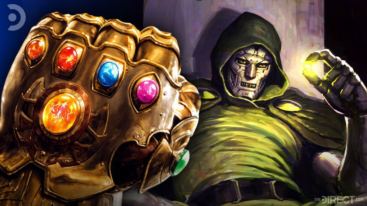 Doctor Doom and Infinity Gauntlet