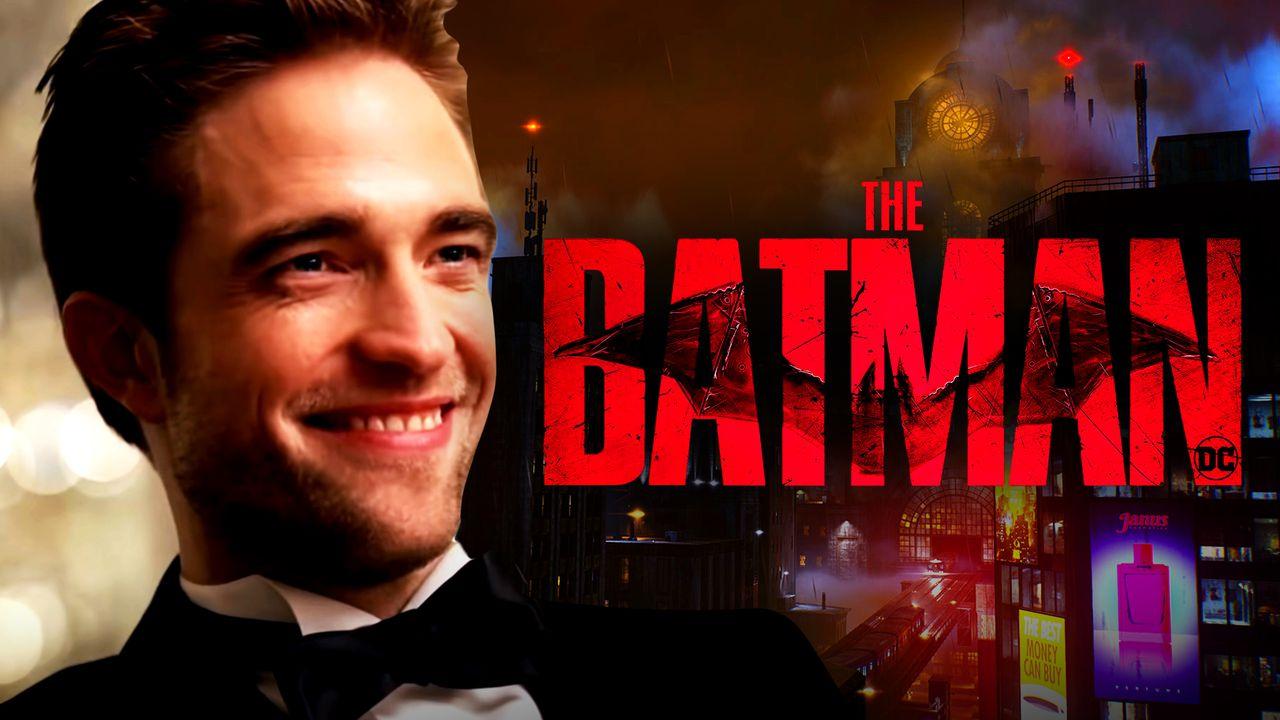 Robert Pattinson, Gotham, The Batman Logo