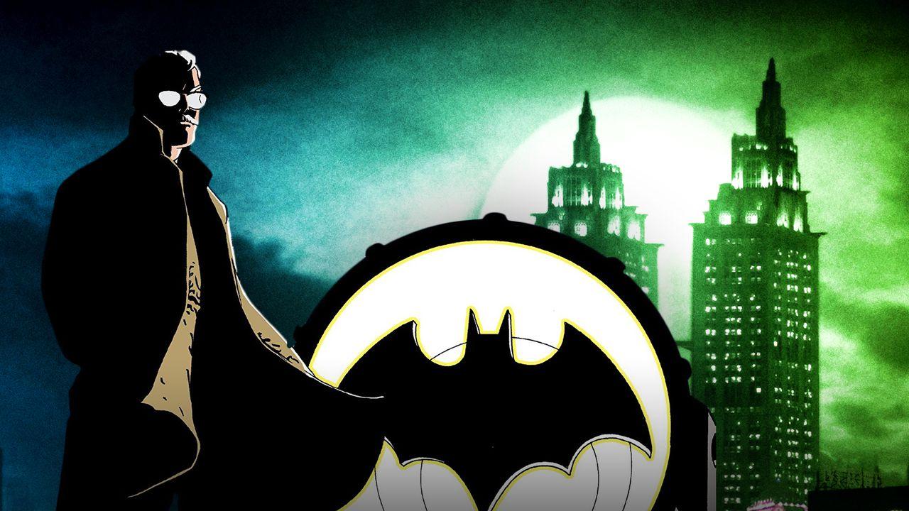 James Gordon Batman Signal