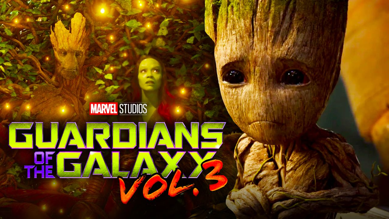 Guardians of the Galaxy Vol 3 Groot